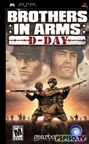 Brothers in Arms D-Day - бесплатно psp, psp, прошивка psp, игры psp.