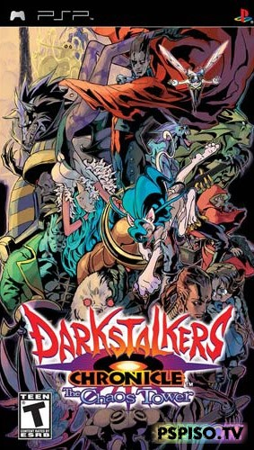 Darkstalkers Chronicle the Chaos Tower - ����� psp, psp, ������� ����� ��� psp, ���� ��� psp �������.