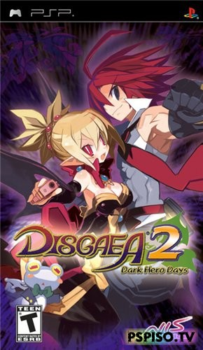 Disgaea 2: Dark Hero Days (2009/PSP/ENG) - psp go, скачат игры на psp, psp slim, скачат игры на psp бесплатно.