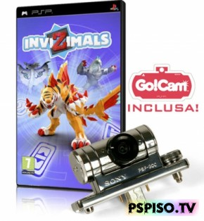 InviZimals - Rus Patched 5.xx - псп, бесплатно psp, игры для psp, psp игры.