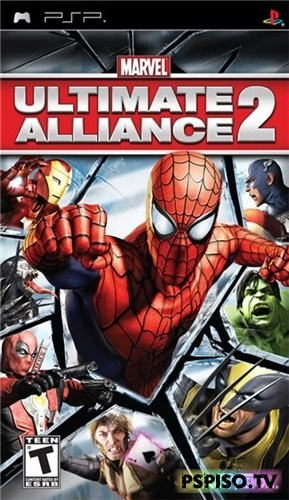 Marvel: Ultimate Alliance 2 (2009/PSP/ENG)