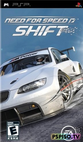 Need for Speed: Shift (2009/PSP/RUS/ENG)