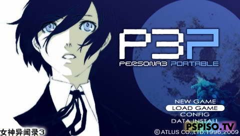 Persona 3 Portable - JPN Patched 5.xx! - игры для psp, psp скачать, игры для psp скачать, скачат игры на psp.