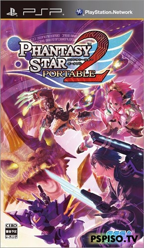 Phantasy Star Portable 2 (2009/PSP/JAP)