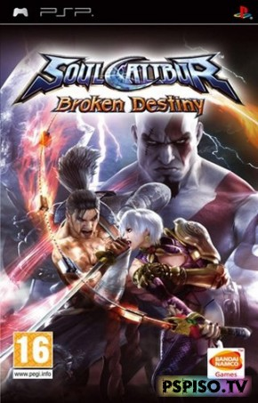 Soul Calibur Broken Destiny (2009/RUS) PSP