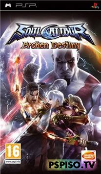 Soul Calibur: Broken Destiny (2009/PSP/RUS/ENG)
