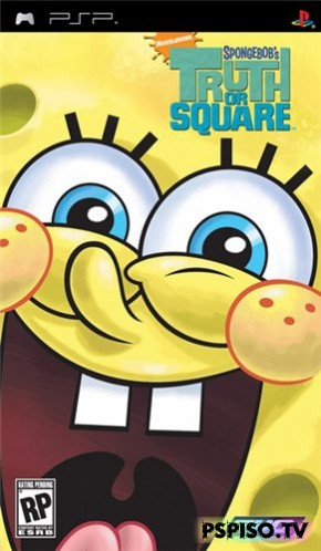 SpongeBob039;s: Truth or Square (2009/PSP/ENG) - игры для psp скачать, psp игры, psp slim, psp.