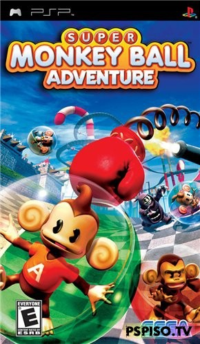 Super Monkey Ball Adventure (2006/PSP/ENG)