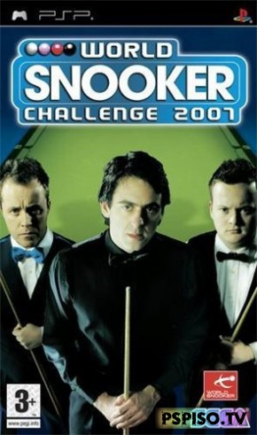 World Snooker Challenge 2007 (2007/PSP/RUS) - псп, psp скачать, psp, psp slim.