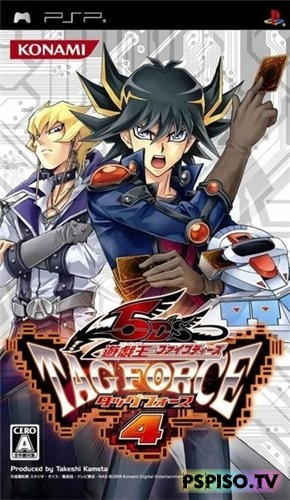 Yu-Gi-Oh! 5D's Tag Force 4 (2009/PSP/JAP)
