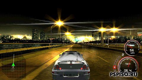 psp, psp ����, psp �������, psp ��������� �������, ��������� ���� pspThe Fast and the Furious