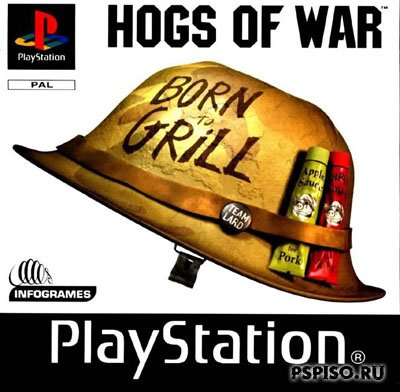 Hogs of War (RUS) [PSX]