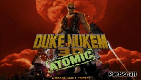 Duke Nukem 3D Atomic Edition Build 98 for PSP Slim