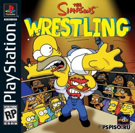 The Simpson's wrestling (PSX)