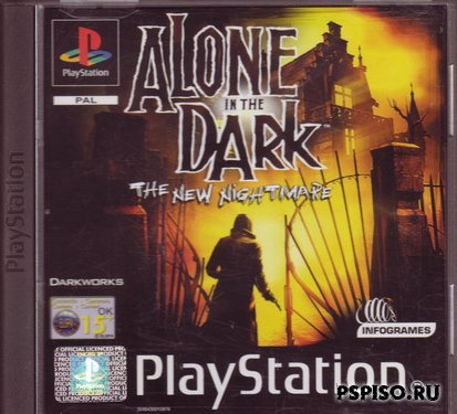 Alone in the Dark: The New Nightmare [PSX][FULL][RUS]