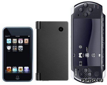 Nintendo DSi vs. PSP-3000 vs. iPhone, version 1.0