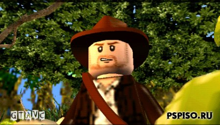 LEGO Indiana Jones: The Original Adventures - Rus - темы для psp,  скачать, psp,  аниме.