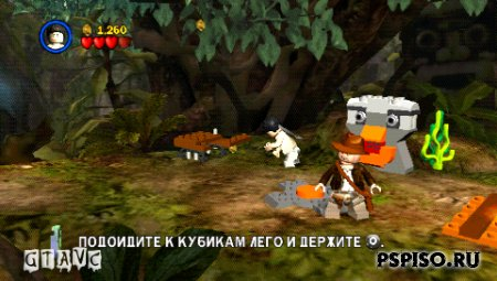LEGO Indiana Jones: The Original Adventures - Rus - игры для psp,  psp, игры нa psp, psp.