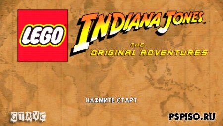LEGO Indiana Jones: The Original Adventures - Rus - одним файлом,  прошивки, игры для psp, psp gta.