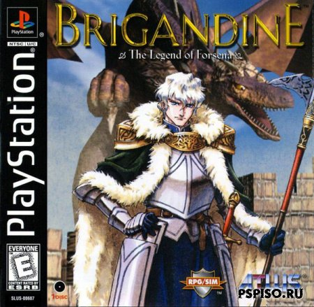 Brigandine - Legend of Forsena [PSX]