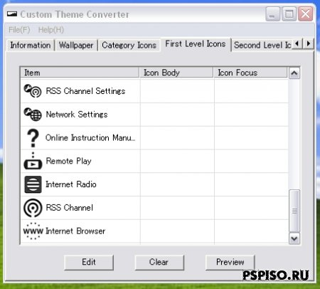 Sony Custom Theme Converter v1.4