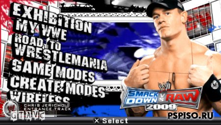 WWE SmackDown vs. Raw 2009 - ����,  ��������,  ����, ���� ��� psp.