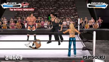 WWE SmackDown vs. Raw 2009 - ������� ���� ��� psp, ���� ��� psp �������,  �����, ���� ��� psp.