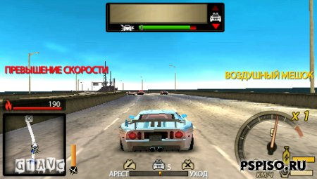 Need for Speed: Undercover - RUS - видео, игры, игры бесплатно для psp, скачать игры для psp.