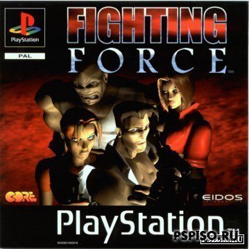 Fightin Force [psx-2-psp]
