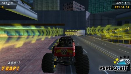 Monster Jam - Urban Assault - RUS