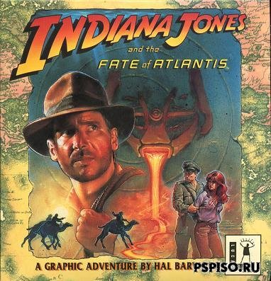 Indiana Jones and the Fate of Atlantis SCUMM (rus)