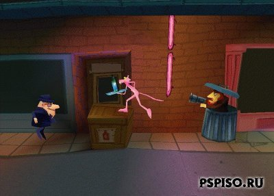 Pink Panther-Pikadelic Pursuit (PSX)