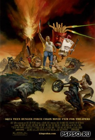 ������� ������� - ����� / Aqua Teen Hunger Force - Colon Movie Film For Theaters