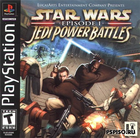 Star Wars Episode I Jedi Power Battles [RUS]