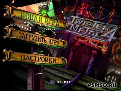 Twisted Metall 4 [PSX]