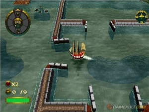 Shipwreckers (Overboard) [Rus] [PSX]