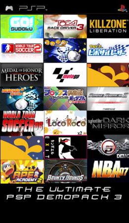 Ultimate PSP Demo Pack 3