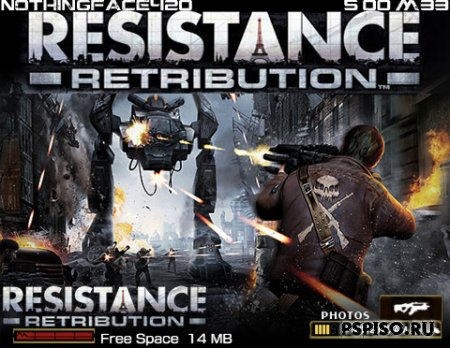 Resistance Retribution - тема для 5.00 М33