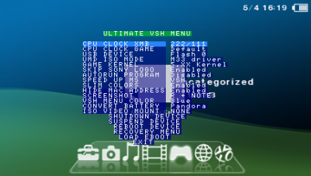 Ultimate VSH menu v1.07