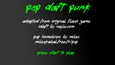 PSP Daft Punk (Homebrew)