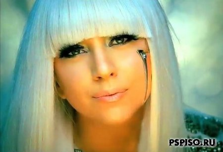 Lady Gaga - Poker Face & Just Dance [Клипы для PSP]