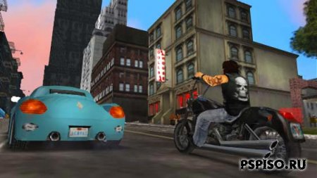Grand Theft Auto: Liberty City Stories RUS - игры, psp gta, psp бесплатно,  обои.