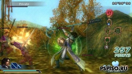 Dynasty Warriors: Strikeforce ENG - ������� ��������� ���� ��� psp, psp slim ��������, ���������� ���� �� psp, �������� psp.