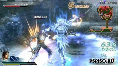 Dynasty Warriors: Strikeforce ENG - ����� psp, psp ���� ��������� ��� �����������,  ���� ��� psp, ������ psp.