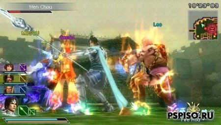 Dynasty Warriors: Strikeforce ENG - ������� ����� ��������� ��� psp, �������� psp, ������� ����� ������ ���� psp, ���� ��� psp.