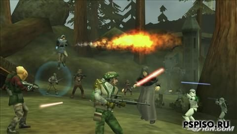 Первые скриншоты Star Wars Battlefront: Elite Squadron на PSP
