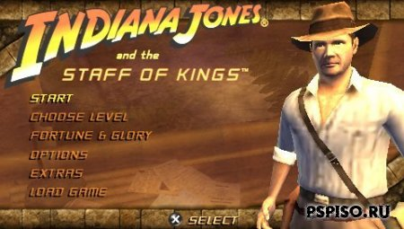 Indiana Jones And The Staff Of Kings - USA - игры для psp, psp бесплатно, psp gta,  без регистрации.
