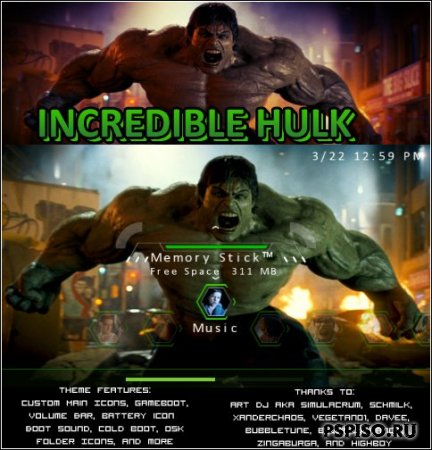 [CTF/5.00] The Incredible Hulk