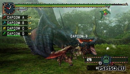 Monster Hunter Freedom Unite (MULTI 5)