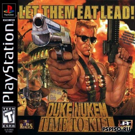 Duke Nukem Time To Kill PSX